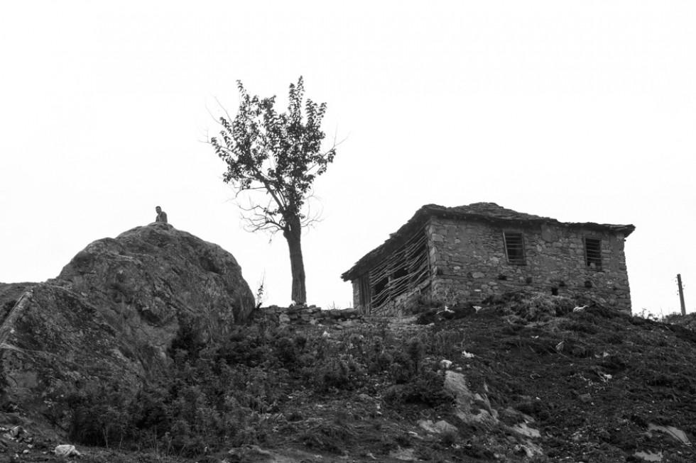 Един хълм, един стълб, една къща, едно дърво, един човек, една скала, един спомен, едно време, един път. едно листо падна. един първи юли е утре.