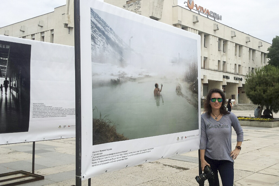 Първа награда от конкурс - изложба на централен площад Пловдив